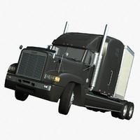 truck freightliner 3d lwo