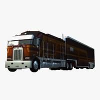 3d truck trailer atds model