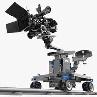 camcorder jvc gy-hd110u magnum 3d model