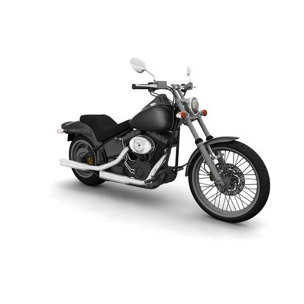 Harley Turbo Review: 3d Model Harley Night Train