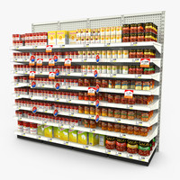 Grocery Shelves - Soup