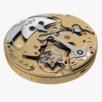 3ds max watch mechanism breguet