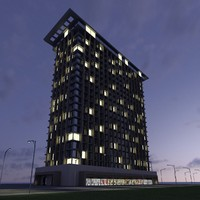 maya new skyscraper 7 -