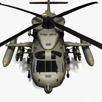3ds max mh60a blackhawk 2 military helicopter