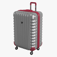 roncato roll suitcase 3d 3ds