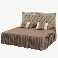 Corte Zari Classic Draped Double Bed