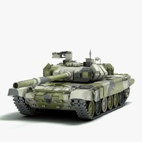 3d russian battle tank