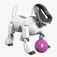 3d model sony aibo ers-7