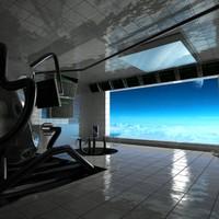 SciFi Interior Scene