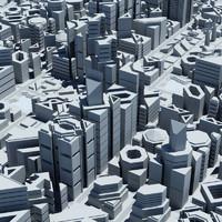 3d city geometric model