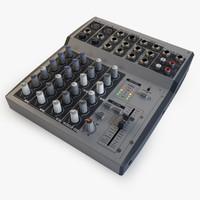 mixer 3d max