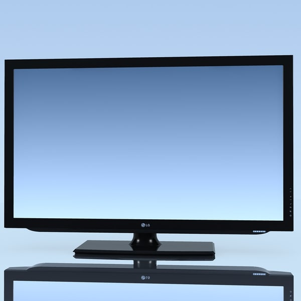 tv lg 42lk430 3d c4d - TV LG 42LK430 MF... by 3DLocker