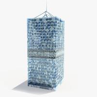 3d modern skyscraper