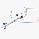 Gulfstream IV 3D models
