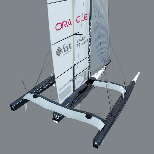 3d model bmw oracle america s - BMW Oracle America Cup Trimaran... by dimosbarbos