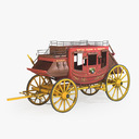 stagecoach 3D models
