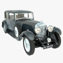 antique car 3D models