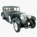 antique car 3D models