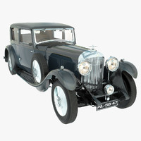 bentley 8 litre 1931 3d model