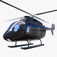 heli helicopter 3d model