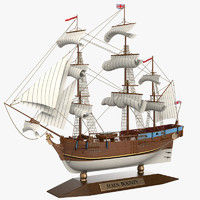 max bounty sailboat ship