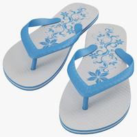 3d sandal model
