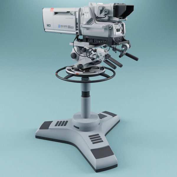 maya studio camera sony hdc - Studio Camera Sony HDC 1000 Collection... by 3d_molier