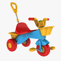 tricycle toy 3d ma