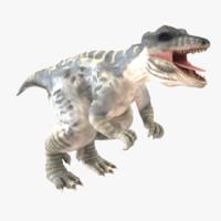 giganotosaurus 3d model