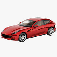 3d model ferrari ff 4-seater 2013