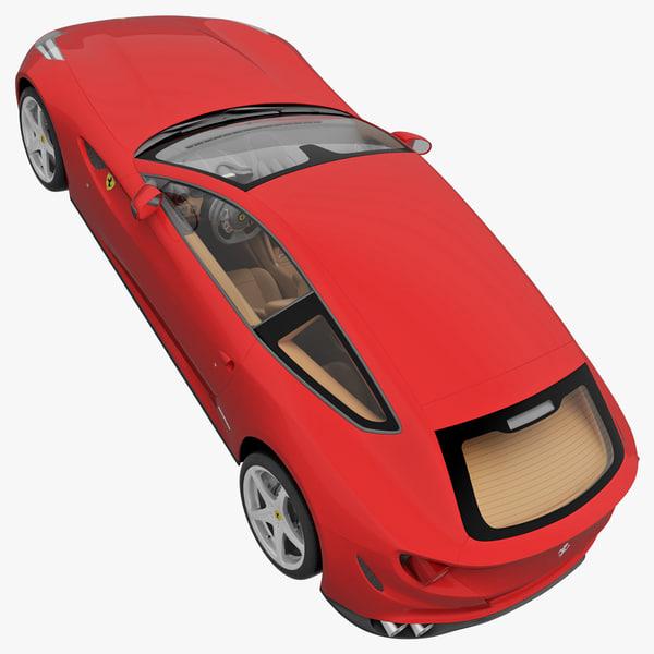 4 Seat Ferrari