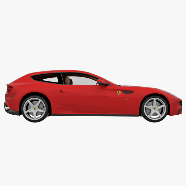 4 Seat Ferrari: 3d Model Ferrari Ff 4 Seater 2013