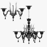 La Murrina Veneziano S6 Murano Chandelier and Sconce