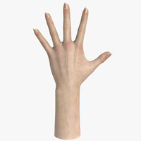 Female Hand Textured