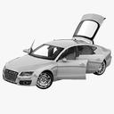 Audi A7 3D models