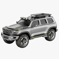 mercedes ener g force 3d model