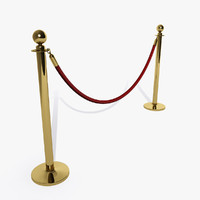3d queue barrier model