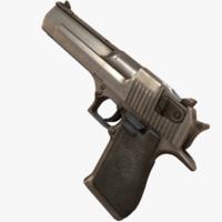 3d desert eagle pistol