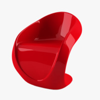 3d chair furniture lounge