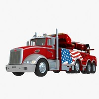 Peterbilt 386 Wrecker