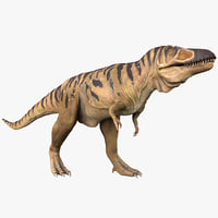 tarbosaurus pose 1 3ds