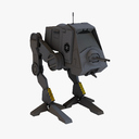 the empire strikes back 3D models