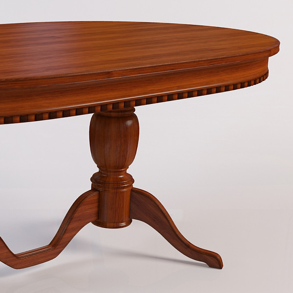 table 3d model - Round Table Florida - Venezia... by ms_Dessi