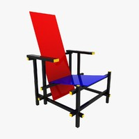 max red blue chair