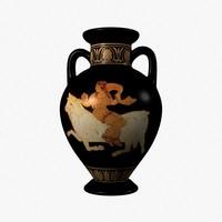 3d amphora model