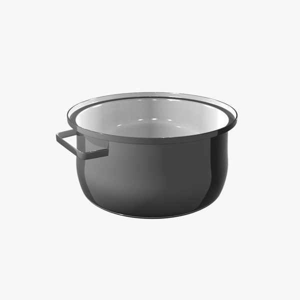 3ds max saucepan pan - Saucepan... by Chrispettersen