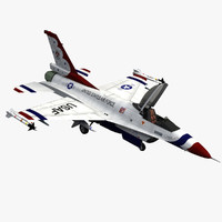f-16 fighting falcon usaf 3d max
