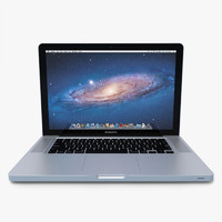 3d model macbook pro 15 computer