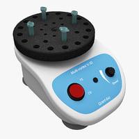 multi vortex mixer v-32 3d c4d