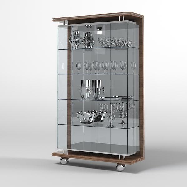 Cupboard Models : Pics Photos - Simple Modern Cupboard 3d Model Max Obj 3ds Fbx Dae